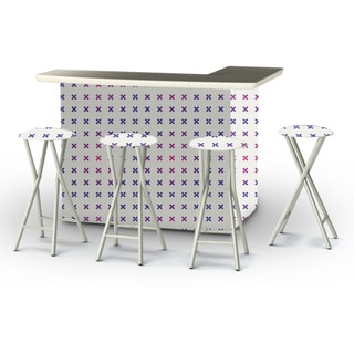 Best of Times Retro-X Portable Patio Bar with Stools
