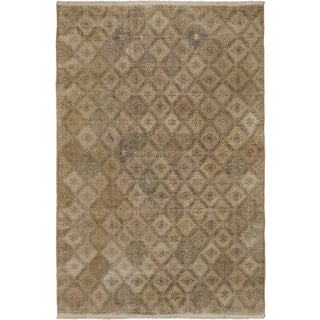 ecarpetgallery Anatolian Sunwash Beige Wool Rug (6'7 x 10'3)