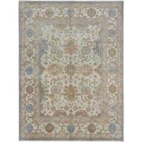 ecarpetgallery Royal Oushak Beige/ Yellow Wool Rug (8'9 x 11'9)
