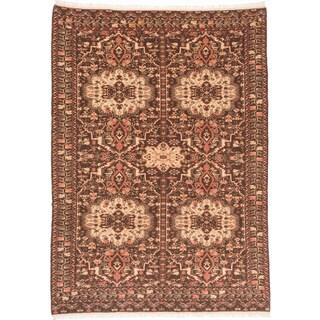 ecarpetgallery Rizbaft Brown Wool Rug (8'8 x 12')