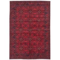 ecarpetgallery Finest Khal Mohammadi Red Wool Rug - 6'8 x 9'5
