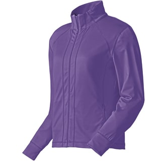 FootJoy Performance Full Zip Golf Mid Layer 2015 Ladies Violet
