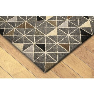 Geometric Indoor Rug (3'6 x 5'6) - 3'6 x 5'6