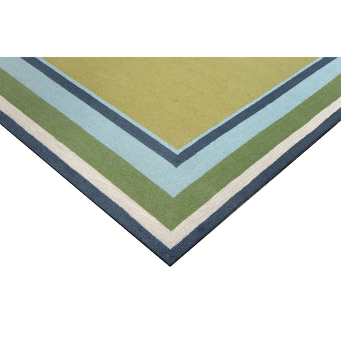 Multi Frame Outdoor Rug (8'3 x 11'6)