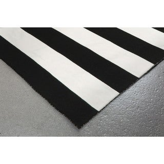 Liora Manne Wide Stripe Outdoor Rug (5' x 7'6)
