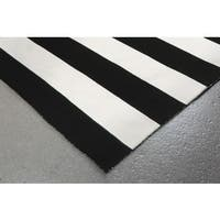 Wide Stripe Outdoor Rug (7'6 x 9'6) - 7'6 x 9'6