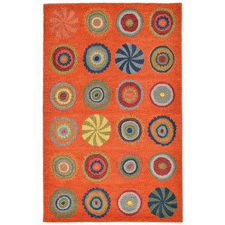 Abstract Candy Indoor Rug (5' x 8')