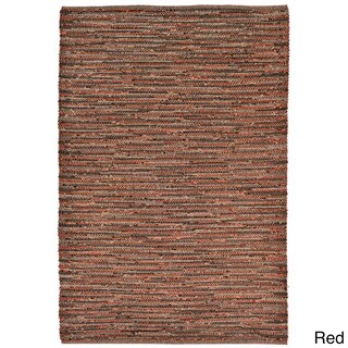 Tonal Weave Outdoor Rug (2' x 8') - 2' x 8' (Option: Red)