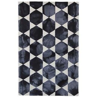 Hexagon Blocks Indoor Rug (9' x 12')