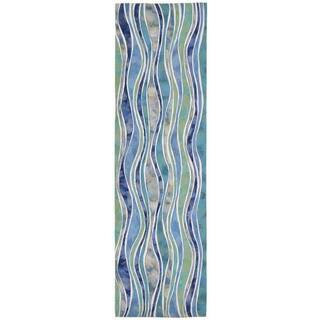 Rolling Wave Outdoor Rug (2'3 x 8)