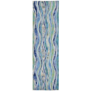 Rolling Wave Outdoor Rug (2'3 x 8) - 2'3 x 8