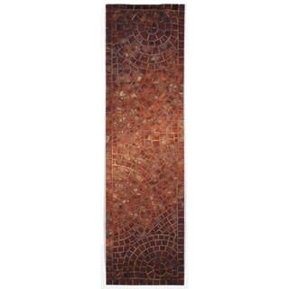 Deco Mosaic Outdoor Rug (2'3 x 8) - 2'3 x 8