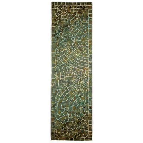 Liora Manne Deco Mosaic Outdoor Rug (2'3 x 8)