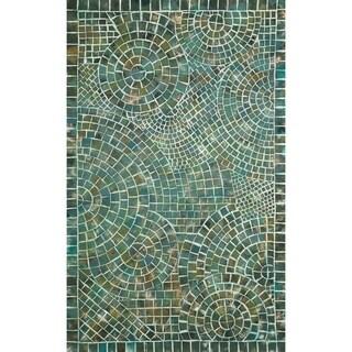 Deco Mosaic Outdoor Rug (8' x 8')