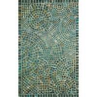 Liora Manne Deco Mosaic Outdoor Rug (8' x 8')