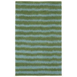 Jagged Stripe Indoor Rug (8' x 10') - 8' x 10'
