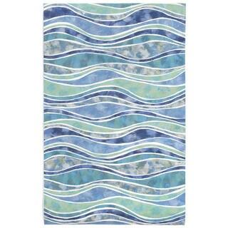 Liora Manne Rolling Wave Outdoor Rug (5' x 8')