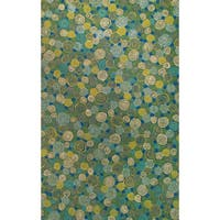 Big Spiral Outdoor Rug (5' x 8') - 5' x 8'