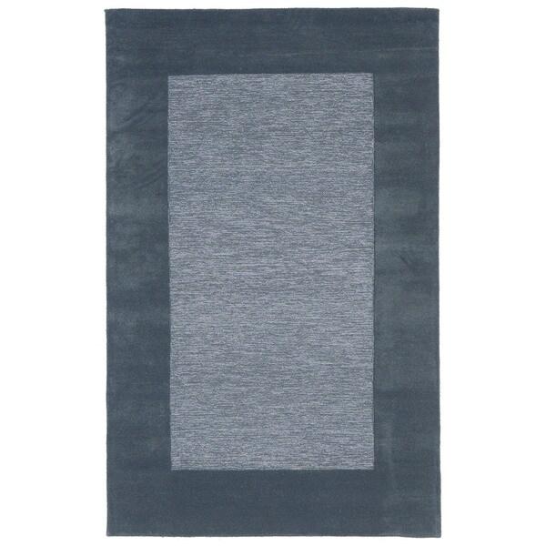 Solid Border Indoor Rug (8' x 10') - 8' x 10'