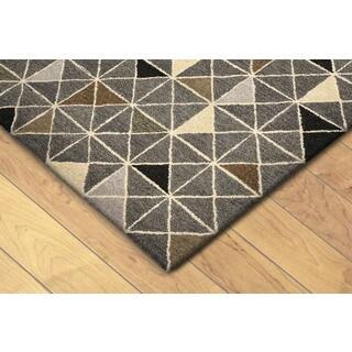 Geometric Indoor Rug (2'3 x 8) (Option: Natural)