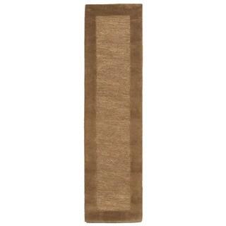 Solid Border Indoor Rug (2' x 8') - 2' x 8'