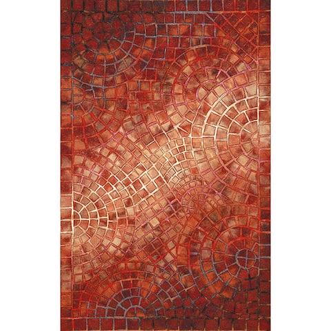 Liora Manne Visions V Arch Tile Indoor/Outdoor Rug