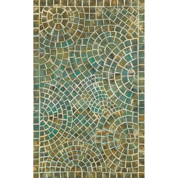 Liora Manne Deco Mosaic Outdoor Rug (3'6 x 5'6)