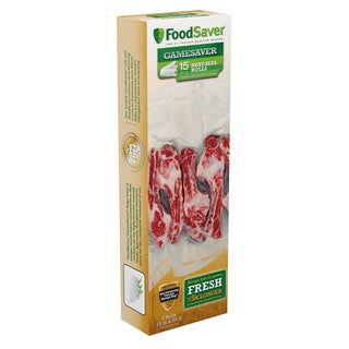 FoodSaver GameSaver Heat-Seal Long Rolls 2 Pack 15in X20ft