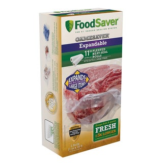 FoodSaver GameSaver Expandable Heat-Seal Rolls 11 In x 18 Ft