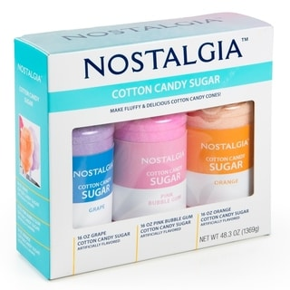 Nostalgia CCFS300 Cotton Candy Sugar Accessory Kit