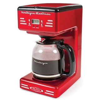Nostalgia RCOF120 Retro Series '50's Style 12-Cup Programmable Coffee Maker