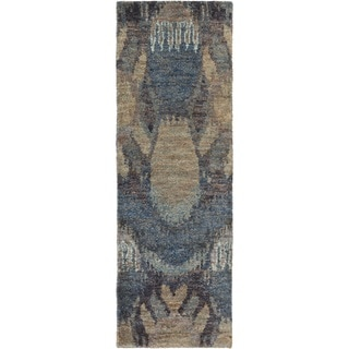 Hand-Knotted Vera Abstract Rug (2'6 x 8')
