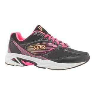 Women's Fila Inspell 3 Running Shoe Black/Knockout Pink/Safety Yellow|https://ak1.ostkcdn.com/images/products/11354825/P18327273.jpg?impolicy=medium