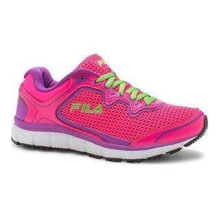 Women's Fila Memory Fresh Start SR Shoe Knockout Pink/Purple Cactus Flower/White