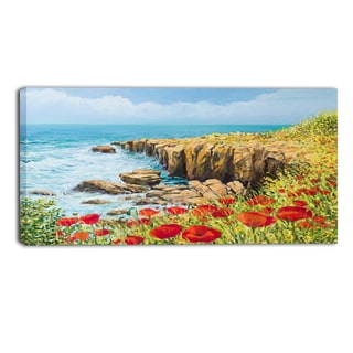 Designart - Summer Breeze - Landscape Canvas Art Print