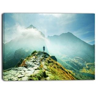 Designart - Mountains Landscape  Photography Canvas Art Print