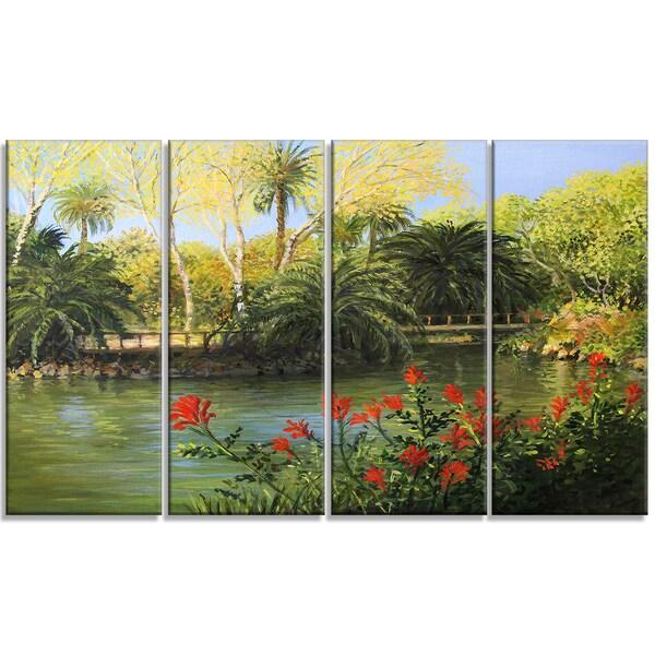 Garden Of Eden Landscape: 4 Piece Landscape Large
