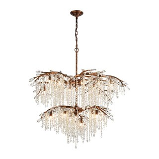 Elk Elia 18-light LED Spanish Bronze Chandelier