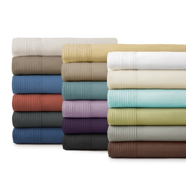 Vilano 21-inch Extra Deep Pocket Pleated Bed Sheet Set. Opens flyout.