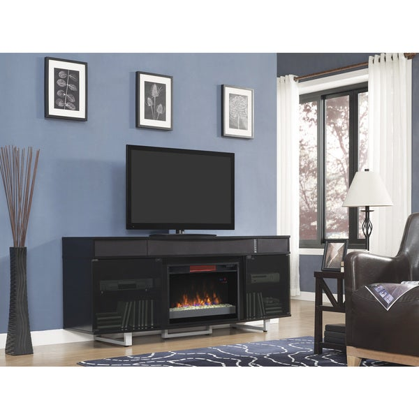 Enterprise TV Stand with Speakers with 26-inch ...