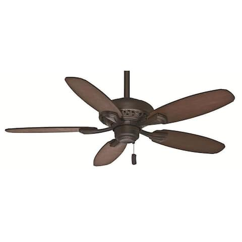 """Casablanca 44"""" Fordham Ceiling Fan with Pull Chain - Brushed Cocoa"""
