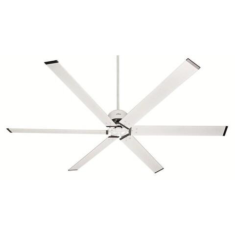 Hunter Fan Industrial HFC-96 96-inch Fresh White with 6 Fresh White Blades