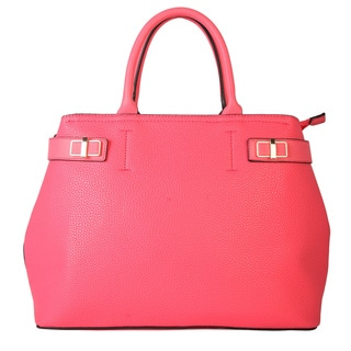 Diophy Fashion Spring Collection Zipper Closure Multiple Pocket Tote Handbag