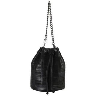 Rimen and Co. Genuine Leather Bucket Drawstring Closure Handbag|https://ak1.ostkcdn.com/images/products/11365289/P18336208.jpg?_ostk_perf_=percv&impolicy=medium