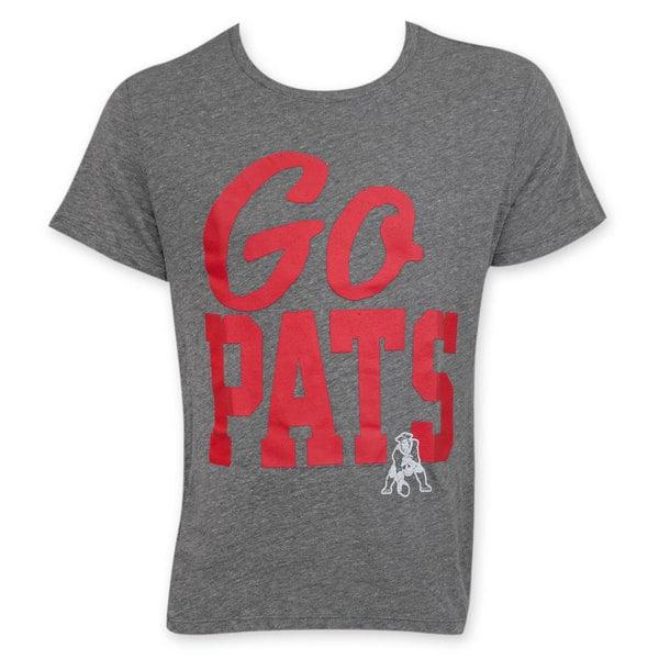 7dafbc5b Shop Junk Food NFL Go Pats Men's New England Patriots T-Shirt ...