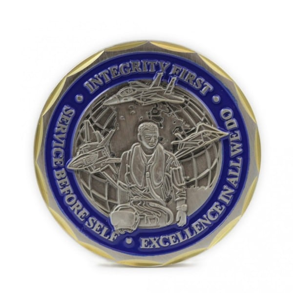 St. Michael the Archangel Airman Challenge Coin