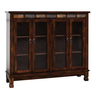 Sunny Designs Santa Fe Bookcase with 4 Doors