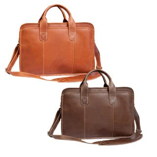 Canyon Outback Buffalo Leather 15-inch Briefcase