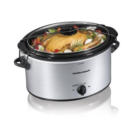 Recertified Hamilton Beach 5-quart Portable Slow Cooker
