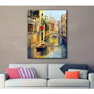 ArtWall 'Haixia Liu's Reflection Of Venice' Gallery Wrapped Canvas